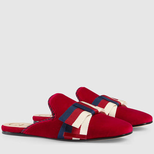 정품 / GUCCI 496561 9FR20 6481 SLIPPER