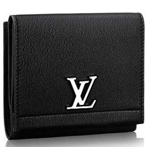 LOUIS VUITTON M64309 Lockme Ii Compact Wallet