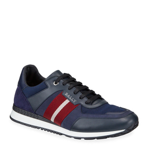 [정품] 발리 BALLY Mens Aseo Multicolor Trainspotting-Stripe Sneakers  / 피오리토
