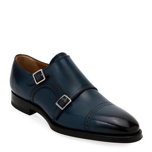 [정품] 발리 BALLY Mens Scardino Leather Double-Monk Loafers  / 피오리토