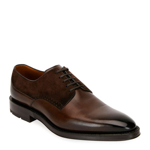 [정품] 발리 BALLY Mens Badux Injected Leather Lace-Up Derby Shoes  / 피오리토