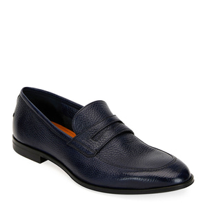 [정품] 발리 BALLY Mens Webb Leather Penny Loafers, Dark Blue  / 피오리토
