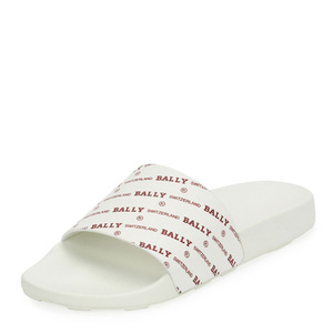 [정품] 발리 BALLY Mens Slanter Logo-Print Pool Slide Sandal  / 피오리토