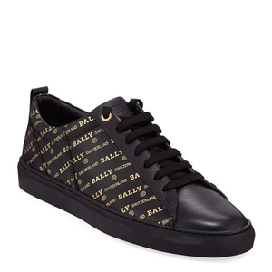 [정품] 발리 BALLY Mens Helmer Logo-Print Low-Top Sneakers  / 피오리토