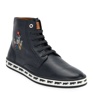 [정품] 발리 BALLY Mens Alp Star Leather High-Top Sneakers  / 피오리토