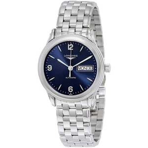 [추가비용없음] 론진 LONGINES L4.799.4.96.6 Mens Flagship Stainless Steel Blue Dial